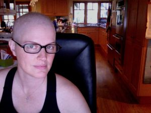 This is me in the midst of chemo. Angelique L'Amour