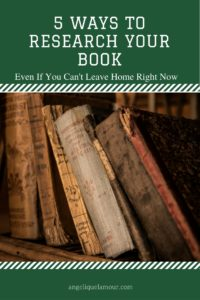 5 ways to research your book