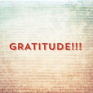 Speaking, Teaching, Writing and Gratitude