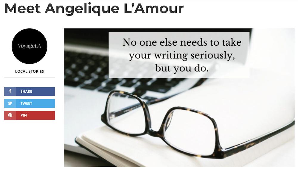 Voyage LA: Meet Angelique L'Amour
