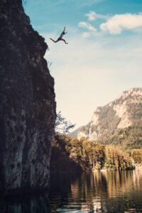 Diving Into Fear and finding the gift